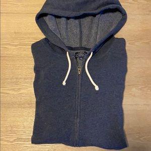 Jcrew zip-up hoodie